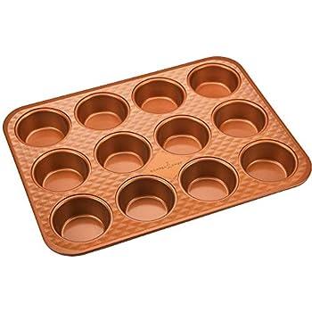 Amazon Com Copper Chef Muffin Pan 12 Cup Cupcake Pan