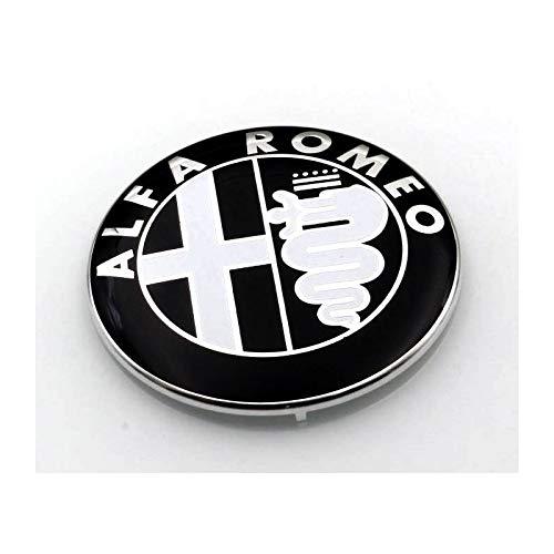 1 LES ARMOIRIES NOIR ALFA ROMEO GIULIETTA GRILLE AVANT OU ARRI/ÈRE 159 MITO 147 GT 74 MM