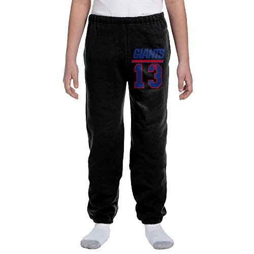Jackson New York Odell #13 Player Youth Slim Fit Jogger Sweatpant Jogger Pants L