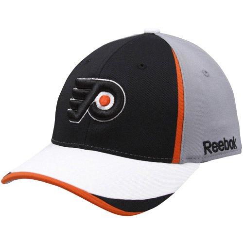 Reebok Philadelphia Flyers Youth Gray 2010 Draft Day Flex Fit Hat