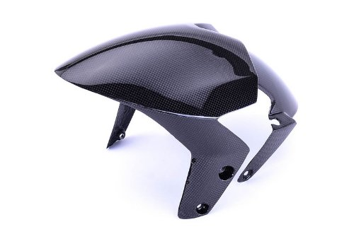Bestem CBDU-MUL-FFD Black Carbon Fiber Front Fender for Ducati Multistrada 620//1000//1100