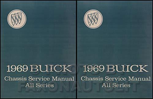 1969 Buick Lesabre - 1969 Buick Repair Shop Manual Reprint - All Models