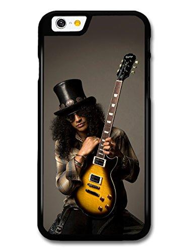 Slash Guns and Roses Guitar Portrait coque pour iPhone 6