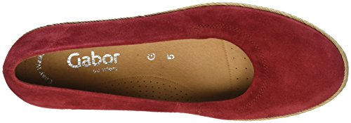 para Red S Mujer Comfort Jute W Sport Shoes Rojo n Bailarinas Gabor K7gIqF