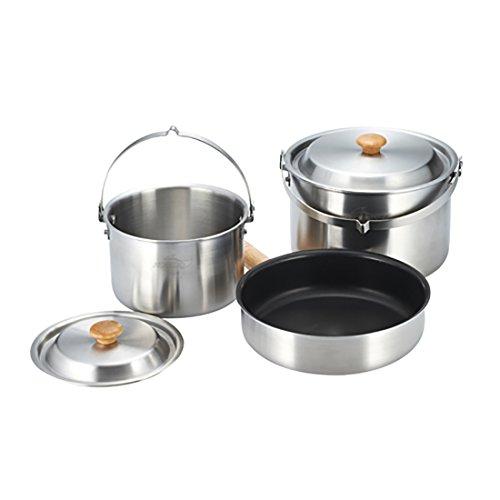 Kovea Triple Stinless Cookware - M by Kovea