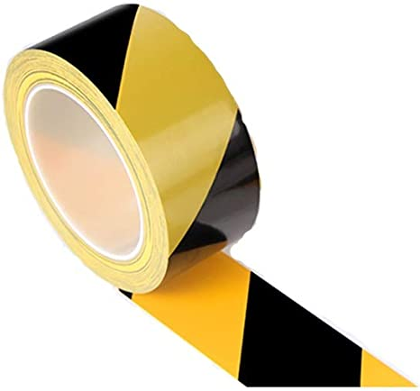Hazard Tape Yellow//Black 33M Roll