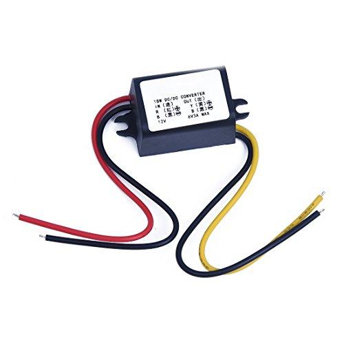 SODIAL(R) 12V to 6V DC-DC Buck Converter Step Down Module Power Supply Voltage Regulator