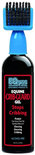 Eqyss Crib Guard Equine Gel 16oz - Guaranteed to Stop Your Horse from Chewing and Cribbing - Bitter Yuck No Chew Spray