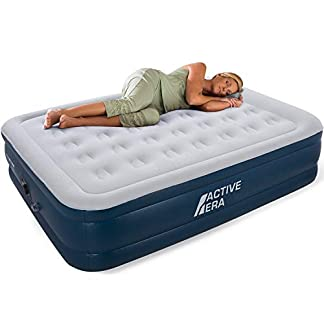Active Era Premium King Size Air Bed with a Built-in Electric Pump and Pillow 5
