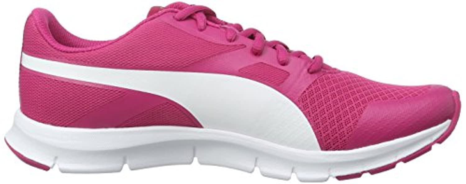 Puma Unisex Kids' Flexracer Low-Top Sneakers pink Size: 3 UK
