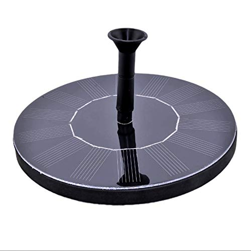 Garden Watering – 7v 1 4w Floating Solar Panel Water Pump Garden Birdbath Pool Fountain Watering Wide Irrigation Pumps – Connector Bottle Stakes Small Mist Drum Products Nozels App Drip