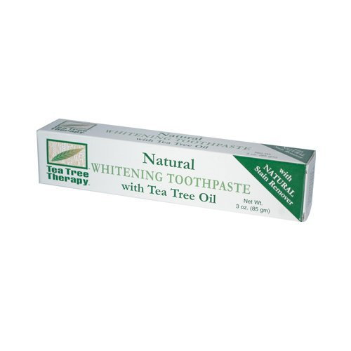Tea Tree Therapy Natural Whitening Toothpaste, 3 Ounce
