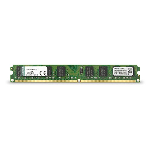 Kingston Technology 2 GB DDR2 Cl6 DIMM Memory 2 800 MHz (PC2 6400) 240-Pin SDRAM Single (Not a kit) KTD-DM8400C6/2G