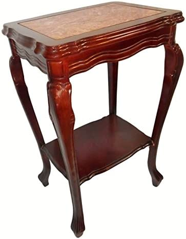 Jofran Nature s Edge Solid Acacia Square End Table, 24 W x 24 D x 24 H
