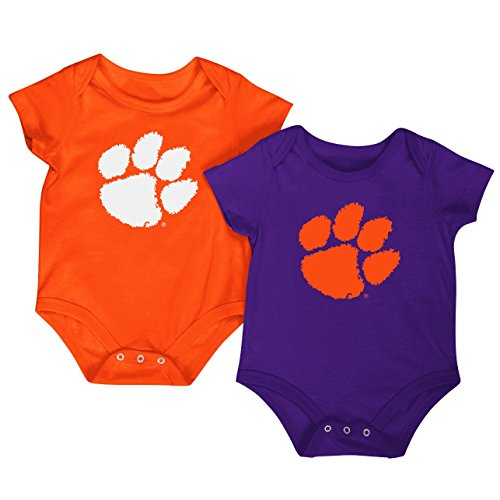 colosseum-ncaa-short-sleeve-bodysuit-2-pack-newborn-and-infant-sizes-clemson-tigers-0-3-months