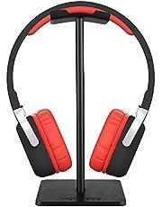 NewBee Soporte para Auriculares, Headphone Holder, Headset Stand, Portátil Material de TPU Negro