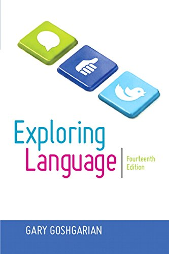 Exploring Language (14th Edition) by Gary J Goshgarian