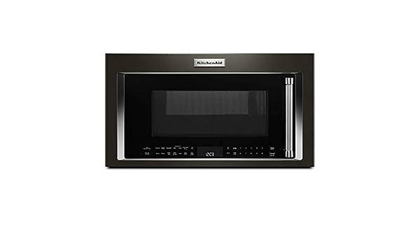 User Manual Kitchenaid Kmhc319ebs Microwave
