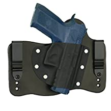 FoxX Holsters CZ 75 P-07 Duty In The Waistband Hybrid Holster Tuckable, Concealed Carry Gun Holster