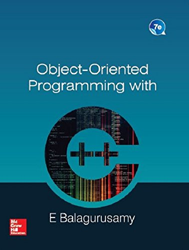 Object Oriented Programming With C++ 7Th Edition