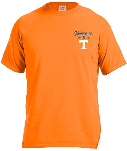 (NCAA Tennessee Volunteers Women's Laces & Bows Color Short Sleeve T-Shirt, Small,TennesseeOrange)