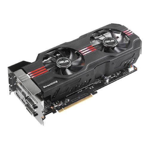 ASUS GeForce GTX 680 DirectCU II OC Edition 2048MB GDDR5, DVI, DVI-D, HDMI, DisplayPort, Overclocked GPU and GPU Tweak Utilities PCI-Express 3.0 Graphics Card Graphics Cards GTX680-DC2O-2GD5 Video Card Overclocked Edition