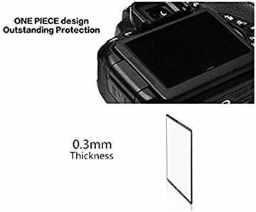 GGS LARMOR 4th G Self-Adhesive Optical Glass LCD Screen Protector for Nikon Z50