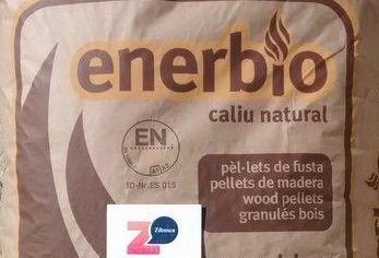 Enerbio; palé de pellets 77 sacos. Certificado ENPlusA1. Para estufas y calderas.
