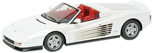 1/43 フェラーリ テスタロッサ スパイダー ピニンファリーナ Ch.62897 パールホワイト (内装色:レッド) EM224C