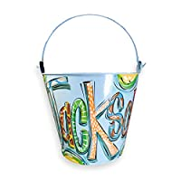 Personalized Blue Easter Bucket for Boys