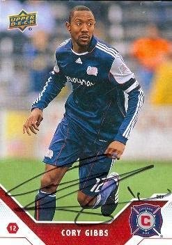 Cory Gibbs Autographed Soccer Card Mls Soccer 2011 Upper Deck 8 Autographed Soccer Cards At Amazon S Sports Collectibles Store