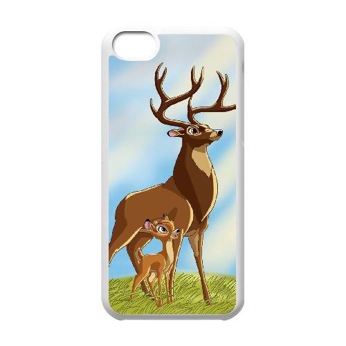 Bambi Ii 006 coque iPhone 5c cellulaire cas coque de téléphone cas blanche couverture de téléphone portable EOKXLLNCD26533
