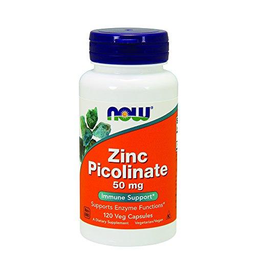 NOW Zinc Picolinate 120 Capsules