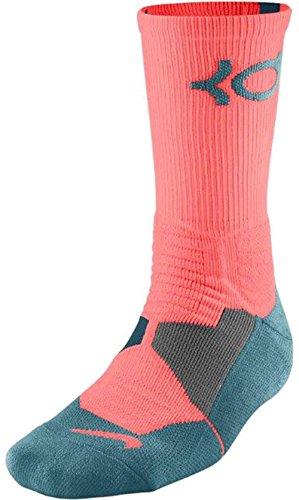 Nike Men's KD Hyper Elite Cushioned Basketball Socks Larg...