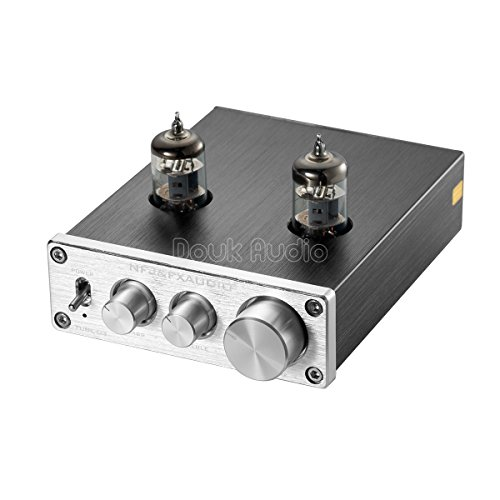 Nobsound Mini 6J1 Vacuum Tube Preamplifier Hi-Fi Stereo PreAmp Treble & Bass & Volume Control - Hi Fi Preamp