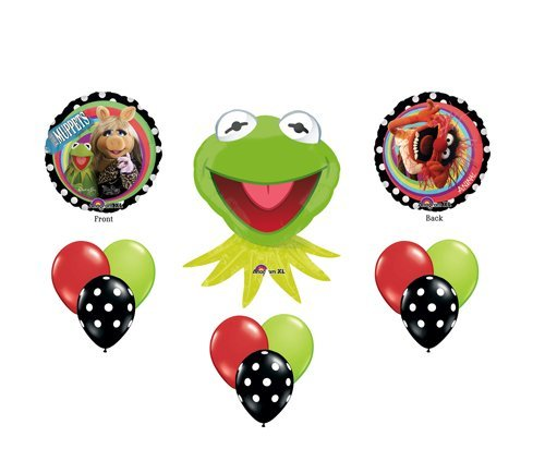 (Muppets Kermit the Frog Birthday Party Supplies Balloons)
