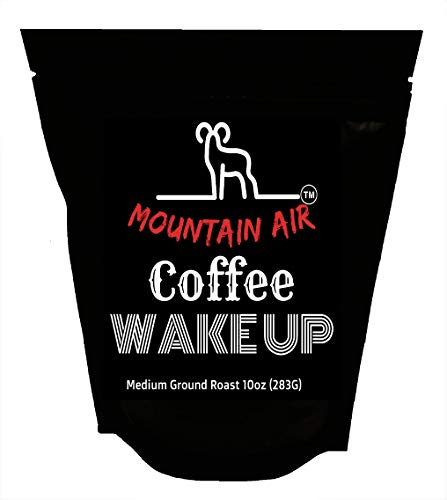 Mountain Air Wake Up Medium Roast Grounded Coffee 10oz (283G)