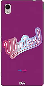 DailyObjects Whateves Case For Sony Xperia M4 Aqua