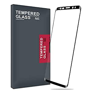 Galaxy Note 9 Screen Protector Glass, Meidom Full Screen Coverage Case Friendly 3D Curved Samsung Galaxy Note 9 Tempered Glass Screen Protector