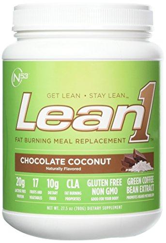 Nutrition 53 Lean 1, Chocolate Coconut, 1.7 Pound
