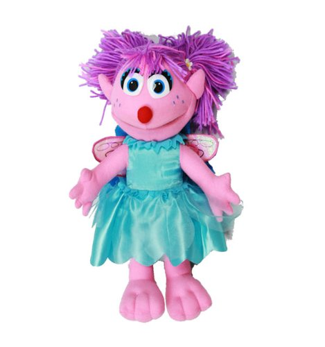 Sesame Street Plush Backpack Abby Cadabby New Soft Doll Toys s10se3464