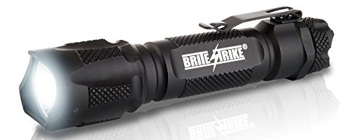 Brite Strike BD-198-HLS-2C Tactical Blue Dot Series 310-Lumen Hi Lo Strobe 2-Cell LED Flashlight by Brite Strike