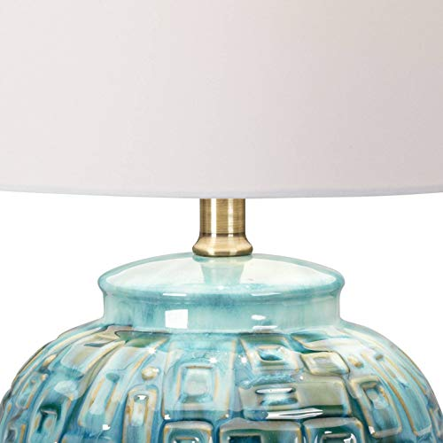 Gold Black Blue Mirrored Deco 79 87393 Table Lamp