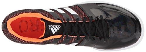 Adidas Unisex Prestanda Adizero Lj Bandplattans Kärna Svart, Ftwr Vit, Orange