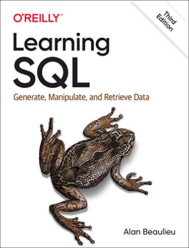 Learning SQL: Generate, Manipulate, and Retrieve Data, 3rd Edition Front Cover