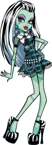 """Monster High Frankie Stein Removable Wall Sticker Large 15"""" Inches Tall"""