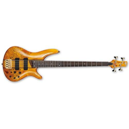 Ibanez SR800 4-String Electric Bass Aged Whiskey Burst - Ibanez Bass Preamps
