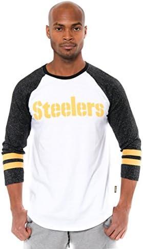 Atlanta Falcons Cut And Sew Long Sleeve T-Shirt Black Mens Crew Neck