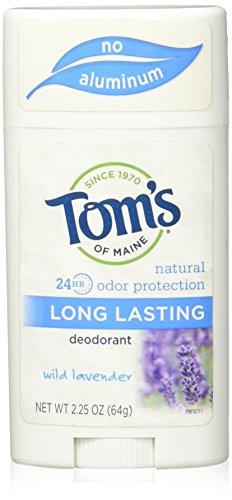 Tom's of Maine Natural Long Lasting Deodorant Stick, Lavender, 2 Count