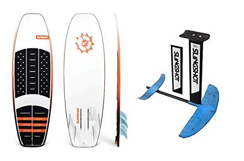 Slingshot Sports 2019 FWake WF-1 WF1 Board 19236024 COMBO with 2018 Slingshot Hoverglide F-Surf/Wake Foil package 18720000